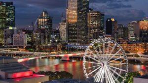 Wheel of Brisbane aerial shot 16X9