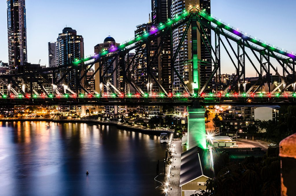 Story Bridge, New Farm, Brisbane